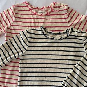 OshKosh Girls' Striped Onesies